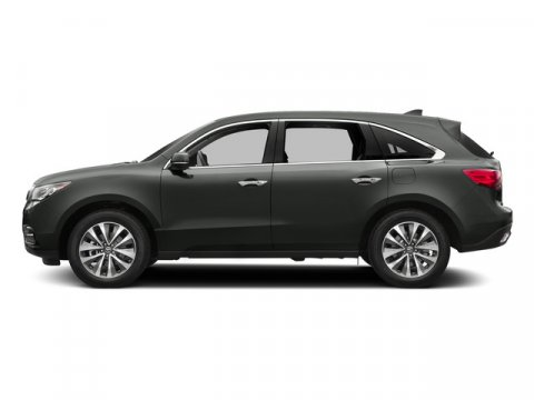 2015 Acura MDX Tech Pkg Forest Mist MetallicGN V6 35 L Automatic 10 miles The 2015 Acura MDX