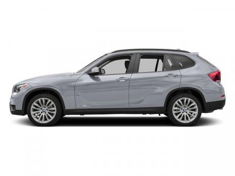 2015 BMW X1 sDrive28i Glacier Silver MetallicBlack V4 20 L Automatic 22 miles  BLACK SENSATEC