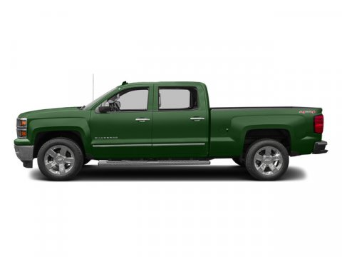 2015 Chevrolet Silverado 1500 Rainforest Green MetallicDark Ash with Jet Black Interior Accents