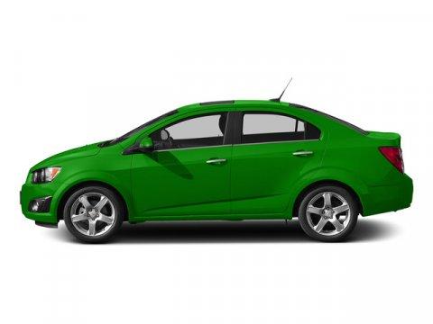 2015 Chevrolet Sonic LT Dragon Green MetallicJET BLACKDARK TITANIUM V4 18L Automatic 1 miles