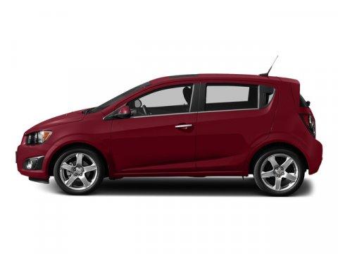 2015 Chevrolet Sonic LT Crystal Red TintcoatJet BlackDark Titanium V4 18L Automatic 2 miles