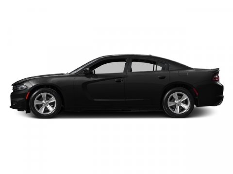 2015 Dodge Charger Pitch Black V8 57 L Automatic 1 miles  50 State Emissions  Transmission w