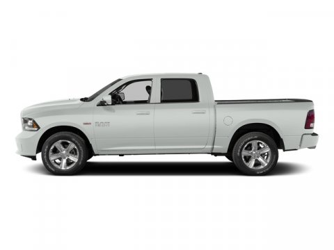 2015 Ram 1500 Bright White Clearcoat V8 57 L Automatic 1 miles  Transmission 8-Speed Automat