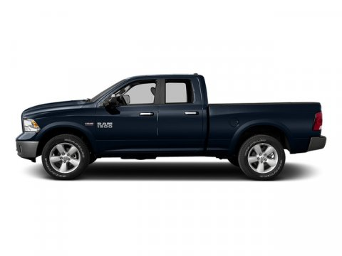 2015 Ram 1500 Quad Cab Express True Blue Pearlcoat V8 57 L Automatic 9 miles Rebate includes