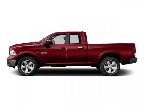 2015 Ram 1500 Quad Cab Express Flame Red Clearcoat V8 57 L Automatic 10 miles Rebate includes
