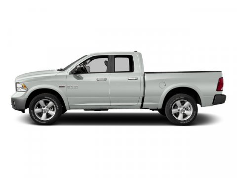 2015 Ram 1500 Quad Cab Bighorn 4x4 Bright White Clearcoat V6 30 L Automatic 1 miles Rebate in