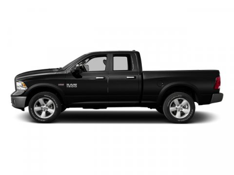 2015 Ram 1500 Brilliant Black Crystal Pearlcoat V8 57 L Automatic 1 miles  Rear Wheel Drive