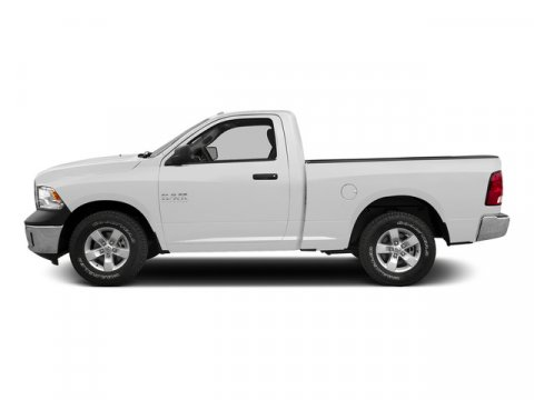 2015 Ram 1500 Bright White Clearcoat V6 36 L Automatic 1 miles  Transmission 8-Speed Automat