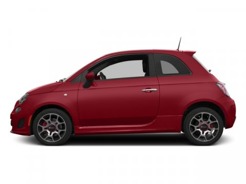2015 FIAT 500 Turbo Rosso RedLEATHER TRIMMED V4 14 L Manual 10 miles With over 500 000 pos