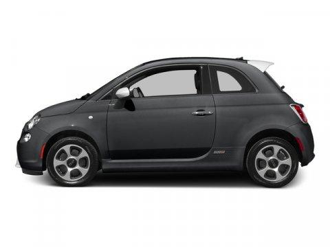 2015 FIAT 500e L Granito Lucente Granite CrystalBlack V0 00 Automatic 10 miles Because Fiat
