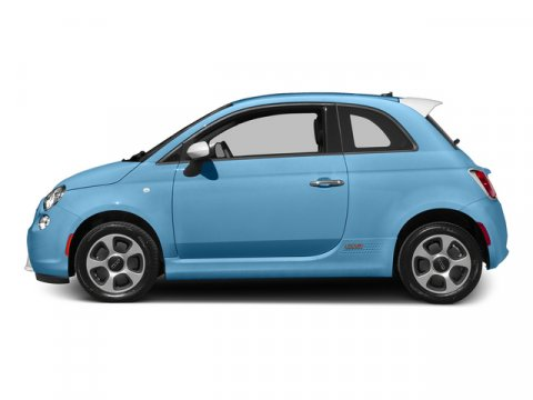 2015 FIAT 500e ELEC Luce Blu Light BlueBlack V0 00 Automatic 10 miles Because Fiat loves de