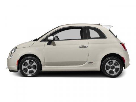 2015 FIAT 500e ELEC Bianco Perla Pearl White Tri-CoatBlack V0 00 Automatic 10 miles Because