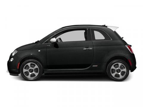 2015 FIAT 500e ELEC Nero Puro Straight BlackBlack V0 00 Automatic 10 miles Because Fiat lov