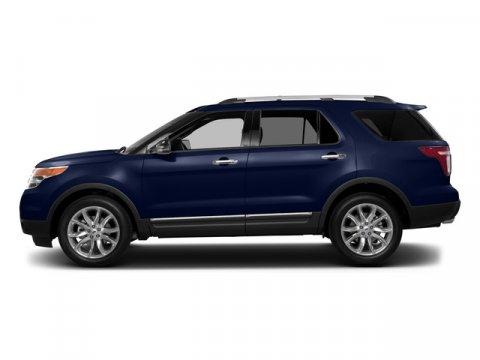 2015 Ford Explorer XLT Deep Impact Blue MetallicMedium Light Stone V6 35 L Automatic 100 miles