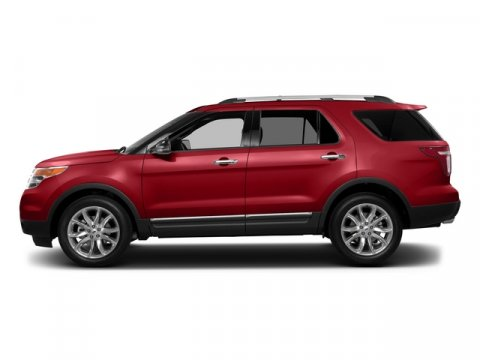 2015 Ford Explorer XLT Ruby Red Metallic Tinted ClearcoatCharcoal Black Interior V6 35 L Automat