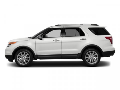 2015 Ford Explorer XLT White Platinum Metallic Tri-CoatCharcoal Black Interior V6 35 L Automatic