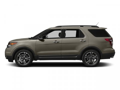 2015 Ford Explorer Sport Magnetic MetallicCharcoal Black V6 35 L Automatic 5 miles The all new