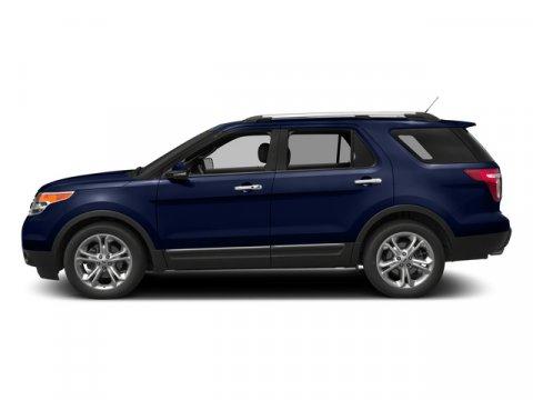 2015 Ford Explorer Limited Deep Impact Blue MetallicCharcoal Black V6 35 L Automatic 5 miles T