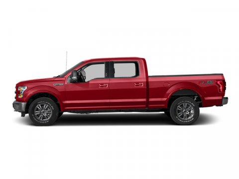 2015 Ford F-150 Lariat Ruby Red Metallic Tinted Clearcoat V6 35 L Automatic 5 miles Voice-Acti