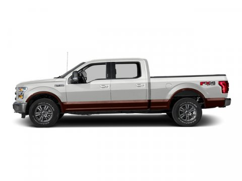 2015 Ford F-150 Lariat Oxford WhiteMedium Earth Gray V8 50 L Automatic 5 miles Voice-Activated