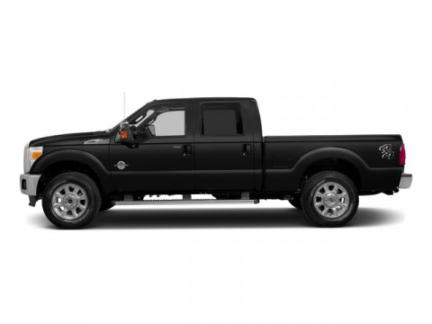 2015 Ford Super Duty F-250 SRW Lariat Tuxedo Black Metallic5A Leather 40Console40 Seat Adobe V8