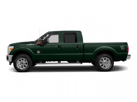 2015 Ford Super Duty F-250 SRW XL Green Gem Metallic V8 67 L Automatic 3 miles Lariat Interio