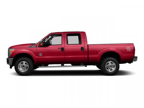 2015 Ford Super Duty F-350 SRW XL Vermillion Red V8 67 L Automatic 3 miles Price does not incl