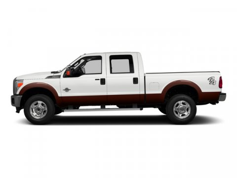 2015 Ford Super Duty F-350 SRW Lariat White Platinum Metallic Tri-Coat V8 67 L Automatic 0 mile