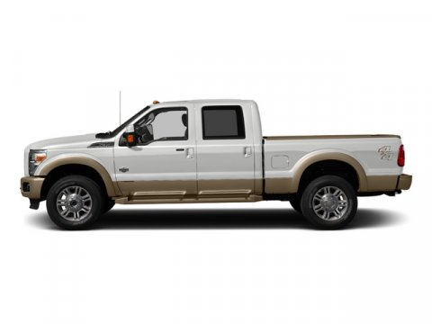 2015 Ford Super Duty F-350 SRW Lariat Oxford White V8 67 L Automatic 3 miles Navigation Syste