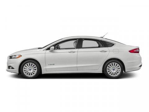 2015 Ford Fusion SE Hybrid White Platinum Metallic Tri-CoatChar Blk V4 20 L Variable 0 miles T