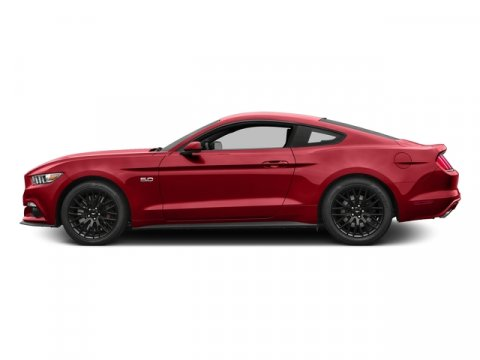 2015 Ford Mustang 41 Ruby Red Metallic Tinted Clearcoat V8 50 L 44X 3 miles  A S  S C  TBK
