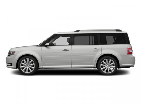 2015 Ford Flex Limited with EcoBoost White Platinum Metallic Tri-Coat V6 35 L Automatic 3 mile