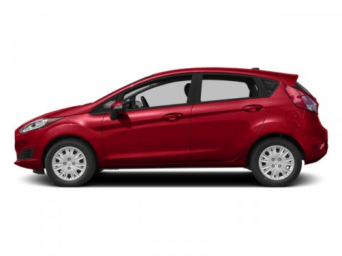 2015 Ford Fiesta Titanium Race RedChar Blk V4 16 L Automatic 0 miles With its bright hues like