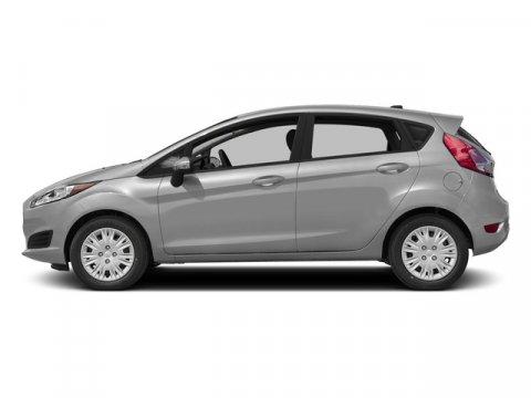 2015 Ford Fiesta Titanium Ingot Silver MetallicChar Blk V4 16 L Automatic 0 miles With its bri