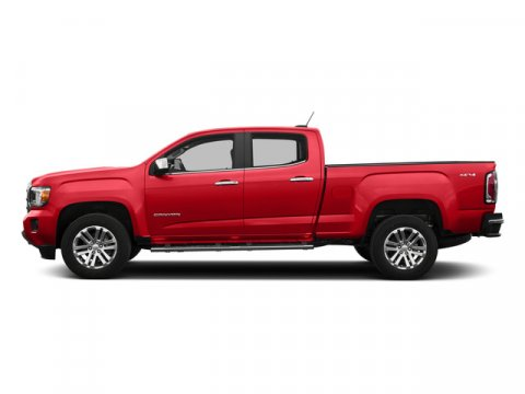 2015 GMC Canyon 4WD SLT Cardinal Red V6 36L Automatic 4863 miles  LockingLimited Slip Differ