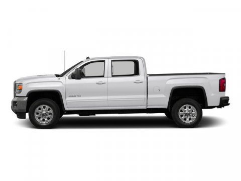 2015 GMC Sierra 2500HD Built After Aug 14 SLE Summit WhiteJET BLACK V8 60L Automatic 5 miles