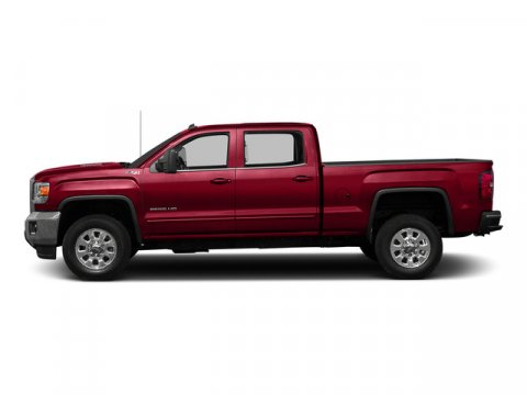 2015 GMC Sierra 2500HD SLT Fire RedCOCOA  DUNE V8 60L Automatic 5 miles Redesigned for 2015 i