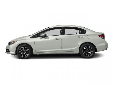 2015 Honda Civic Sedan EX Taffeta WhiteBeige V4 18 L Variable 0 miles  Front Wheel Drive  Po