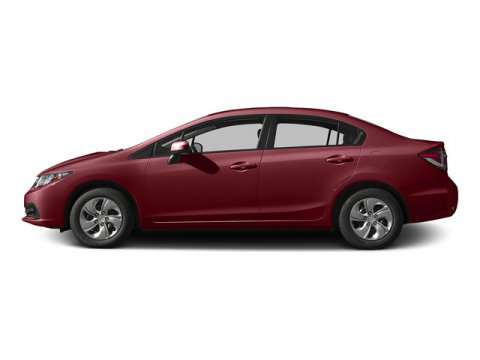 2015 Honda Civic Sedan LX Crimson PearlBeige V4 18 L Variable 0 miles  Front Wheel Drive  Po