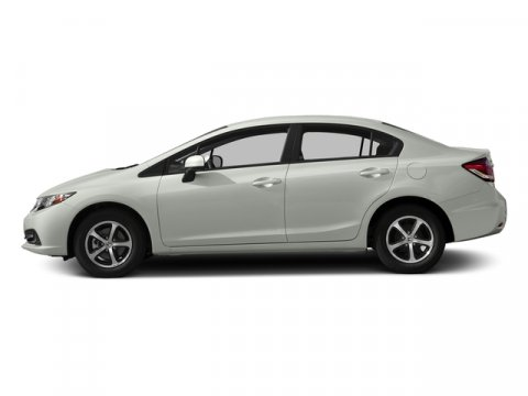 2015 Honda Civic Sedan SE Taffeta WhiteBeige V4 18 L Variable 0 miles  Front Wheel Drive  Po