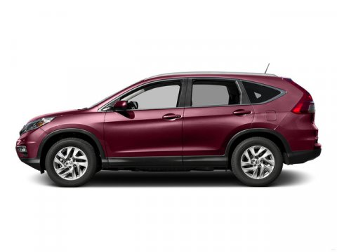 2015 Honda CR-V EX-L Basque Red Pearl IIGray V4 24 L Variable 0 miles  Front Wheel Drive  Po
