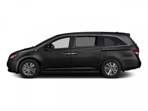 2015 Honda Odyssey EX-L Crystal Black PearlGray V6 35 L Automatic 0 miles  Front Wheel Drive