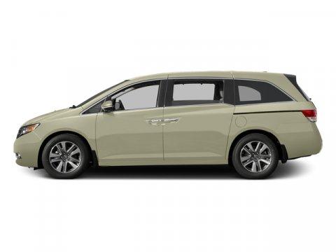 2015 Honda Odyssey Touring Elite White Diamond PearlTRUFFLE V6 35 L Automatic 5892 miles  Fro