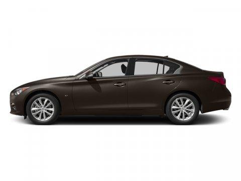 2015 Infiniti Q50 Premium Chestnut BronzeWheat V6 37 L Automatic 0 miles  B92 SPLASH GUARDS