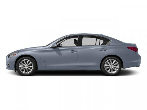2015 Infiniti Q50 Premium Hagane BlueGraphite V6 37 L Automatic 0 miles  B92 SPLASH GUARDS
