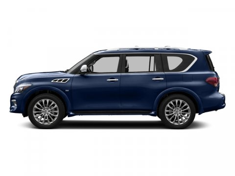2015 Infiniti QX80 Hermosa BlueGraphite V8 56 L Automatic 0 miles  S55 LITERATURE KIT  Z6