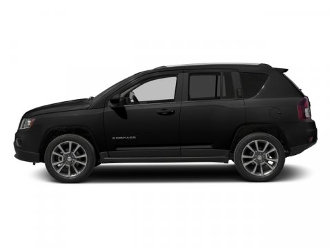 2015 Jeep Compass Black ClearcoatDK SLATE GRY CLTHVINYL V4 24 L  0 miles  Four Wheel Drive