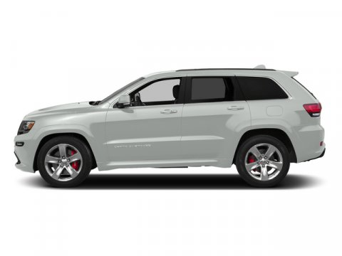 2015 Jeep Grand Cherokee SRT Bright White ClearcoatLEATHER SEATS V8 64 L Automatic 10 miles T