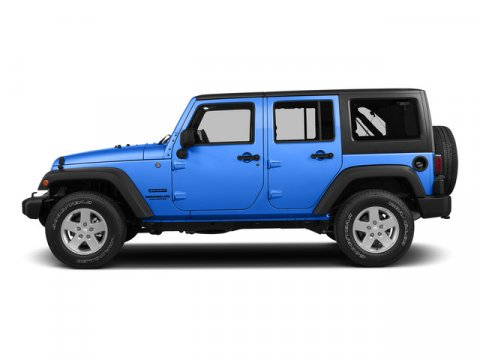 2015 Jeep Wrangler Unlimited Hydro Blue Pearl Coat V6 36 L Automatic 1 miles  410 Rear Axle