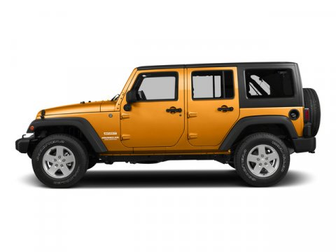 2015 Jeep Wrangler Unlimited Sunset Orange Pearlcoat V6 36 L Automatic 1 miles  410 Rear Axl